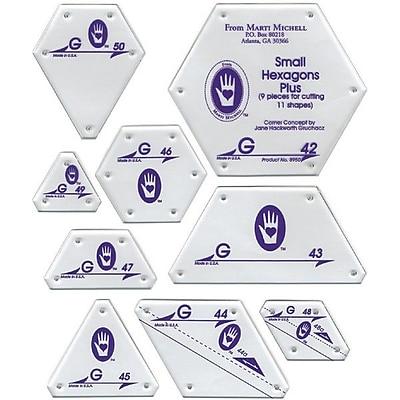 Perfect Patchwork Template, Set G - Small Hexagon Set 9/Pkg