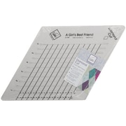"Diamond Cut Slotted Ruler, 9""X9"""