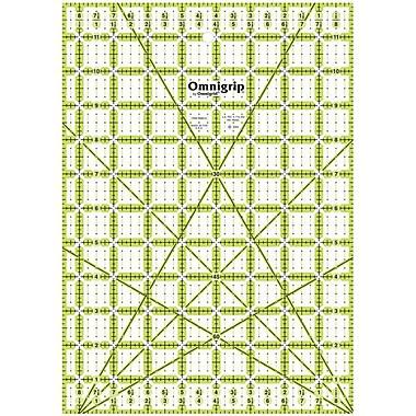 Omnigrip Non-Slip Quilter's Ruler, 8-1/2
