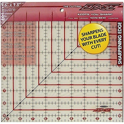 The Cutting EDGE Frosted Ruler, 9-1/2