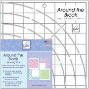 Around The Blockw Ruler, 8 inch X8 inch  by