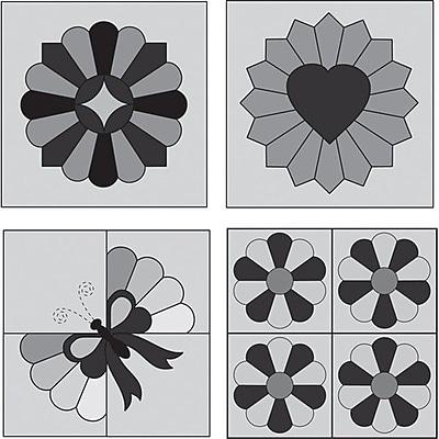 Perfect Patchwork Template, Mini Dresden Plate 4/Pkg
