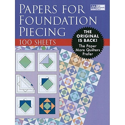 Foundation Paper, 8-1/2