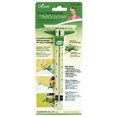 5-In-1 Sliding Gauge With Nancy Zieman, 6