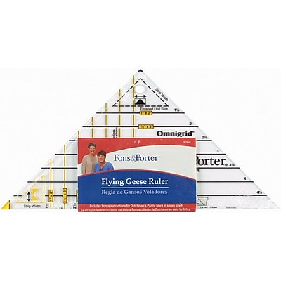 Fons & Porter Super Flying Geese Triangle-1