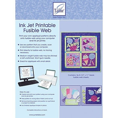 Ink Jet Printable Fusible Web, 8-1/2