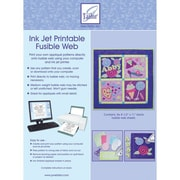 "Ink Jet Printable Fusible Web, 8-1/2""X11"",  6/Pkg"