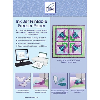 Ink Jet Printable Freezer Paper, 8-1/2