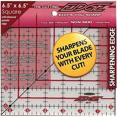 The Cutting EDGE Frosted Ruler, 6-1/2
