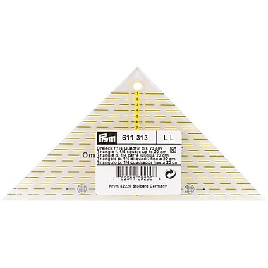 Omnigrid Metric Right Triangle Quilter's Ruler, For 1/4 Square Up To 20cm