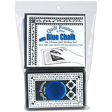 Quilt Pounce Pad With Chalk Powder, Blue