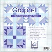 """Graph-It,  Graph Paper, 12""""X12"""",  20/Pkg"""