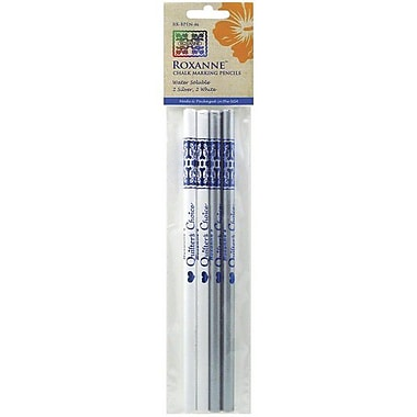 Water Soluble Chalk Marking Pencils, 4/Pkg