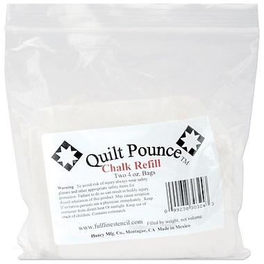 Quilt Pounce Chalk Refill, 2/Pkg, White