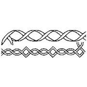 "Quilt Stencils 2"" Borders 6"" X 18"""