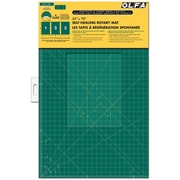 "Olfa Gridded Cutting Mat Set, 35""X70"", Clipped"