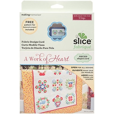 Slice Fabrique Design Card-A Work Of Heart