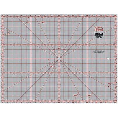 TrueCut Double Sided Rotary Cutting Mat, 18