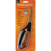 "Fiskars Easy Action 7178 Sharp Tip 8"" Sewing/Craft Scissors, Black/Gray"