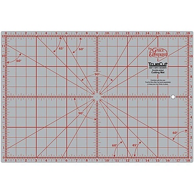 TrueCut Double Sided Rotary Cutting Mat, 12