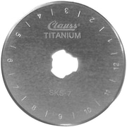 Clauss Rotary Cutter Replacement Blade, 45mm 2/Pkg