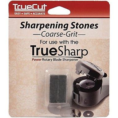TrueSharp Sharpener Replacement Stones, Coarse