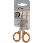 "Tonic Studios 0838 Sharp Tip 4.5"" Embroidery Scissors, Melon/Gray"