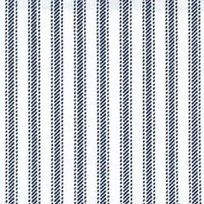 Cotton Fabric, Navy Stripe, 45