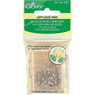 Clover Applique Pins 0.60mm, 150/Pack