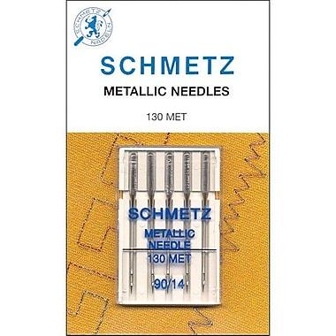 Euro-Notions Metallic Machine Needle, Size 90/14, 5/Pack