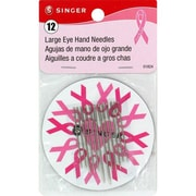 Singer Large Eye Hand Needles, Assorted Sizes, 12/Pack