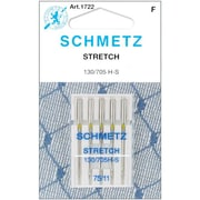 Euro-Notions Stretch Machine Needles, Size 11/75, 5/Pack