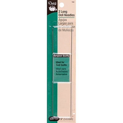 Dritz Doll Needles, 5 inches, 2/Pack