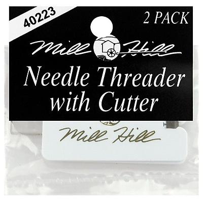 Needle Threader & Cutter, 2/Pkg