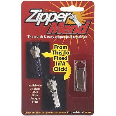 ZipperMend, Antique Brass
