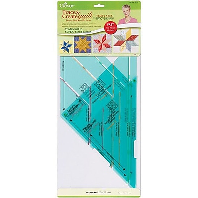 Trace 'n Create Quilt Templates With Nancy Zieman, Lone Star Collection