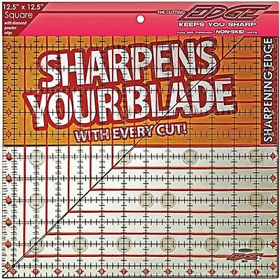 The Cutting EDGE Clear Ruler, 12-1/2