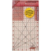 """The Cutting EDGE Frosted Ruler, 6-1/2""""X12-1/2"""""""
