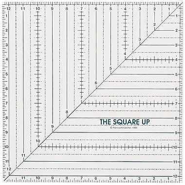 Quilt In A Day Square Up Ruler, 12-1/2