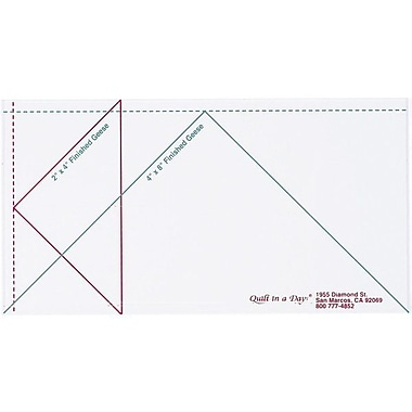 Quilt In A Day Flying Geese Ruler, Large