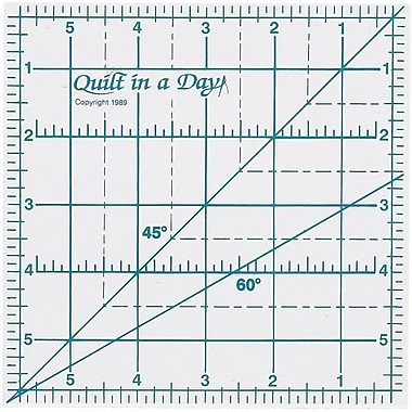 Quilt In A Day Ruler, 6