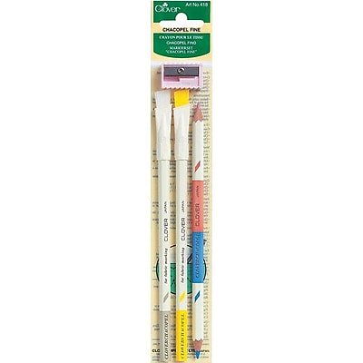 Chacopel Fine, Assorted Colors, 3/Pkg
