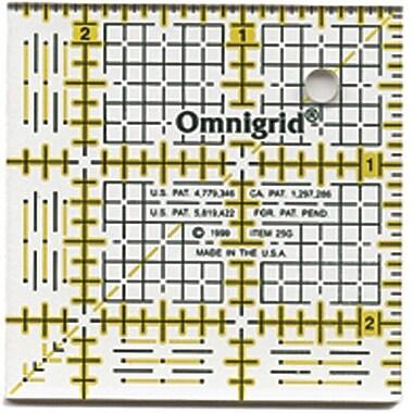 Omnigrid Quilter's Square, 2-1/2