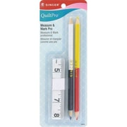 QuiltPro Measure & Mark Pro, Tape Measure & Pencils