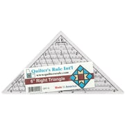 "Mini-Triangle Quilter's Ruler, 6-3/4""X6-3/4""X9-1/2"""