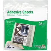 "3L 12"" x 12"" Permanent Adhesive Sheets"