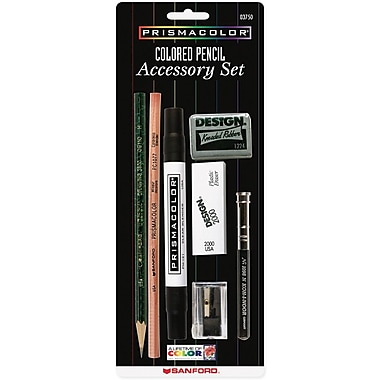Prismacolor Colored Pencil Accessory Set, 7 Pieces/Pack (3750)