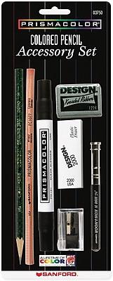 Prismacolor Colored Pencil Accessory Set, 7 Pieces/Pack (3750)