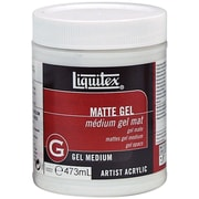 Reeves Liquitex Non-toxic 16 oz. Matte Acrylic Gel Medium (5322)