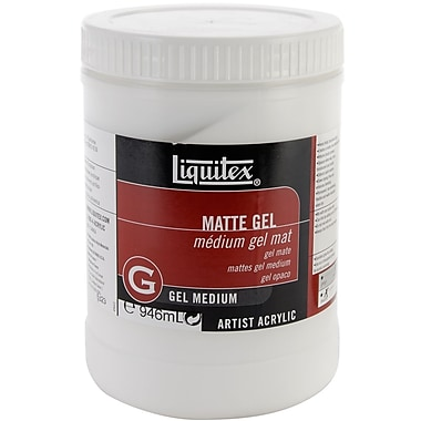 Reeves Liquitex Non-toxic 32 oz. Matte Acrylic Gel Medium (5323)